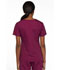 Photograph of Dickies EDS Signature Mock Wrap Top in Wine