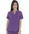Photograph of Women's Mock Wrap Top Purple 9727-BVRS