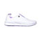 Photograph of Anywear Women's BLAZE White with Lavender Details BLAZE-WLVW
