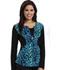 Photograph of Careisma Prints Women's Zip Front Jacket Feeling Fierce CA302X3-FLFC