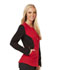 Photograph of Fearless Women's Zip Front Jacket Red CA302-REBK