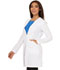 Photograph of Fearless Women's 33 Lab Coat White CA305-WHT