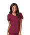 Photograph of Careisma Fearless Women's V-Neck Top Red CA601-WIN