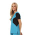 Photograph of Careisma Fearless Women's V-Neck Top Blue CA605-AQBK