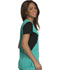 Photograph of Careisma Fearless Women's V-Neck Top Green CA605-EGBK
