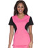 Photograph of Careisma Fearless Women's V-Neck Top Pink CA605-PKBK