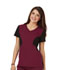 Photograph of Careisma Fearless Women's V-Neck Top Red CA605-WNBK