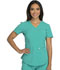Photograph of Careisma Charming Women's Mock Wrap Top Green CA610A-EMRG