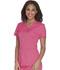Photograph of Careisma Charming Women's Mock Wrap Top Pink CA610A-PKSH