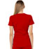 Photograph of Charming Women's Mock Wrap Top Red CA610A-RED