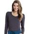 Photograph of Careisma Underscrub Knit Tees Women's Long Sleeve Underscrub Knit Tee Gray CA612A-PWPS