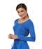 Photograph of Careisma Underscrub Knit Tees Women's Long Sleeve Underscrub Knit Tee Blue CA612A-RYPS