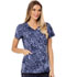 Photograph of Careisma Prints Women's V-Neck Top In Spot Purr-suit CA617-INPU