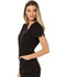 Photograph of Charming Women's V-Neck Top Black CA618A-BLK