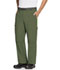 Photograph of Code Happy Bliss Men's Men's Zip Fly Front Pant Green CH205A-OLCH