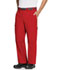 Photograph of Bliss Men Men's Zip Fly Front Pant Red CH205A-RECH