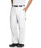 Photograph of Bliss Men's Men's Zip Fly Front Pant White CH205A-WHCH