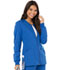Photograph of Code Happy Cloud Nine Women's Zip Front Warm-Up Jacket Blue CH312A-ROYH