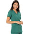 Photograph of Code Happy Cloud Nine Women's Mock Wrap Top Green CH601A-HUN