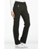 Photograph of iFlex Women's Mid Rise Straight Leg Pull-on Pant Black CK002-BLK