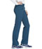 Photograph of iFlex by Cherokee Women's Mid Rise Straight Leg Pull-on Pant Blue CK002-CAR