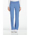 Photograph of Cherokee iFlex Women's Mid Rise Straight Leg Pull-on Pant Blue CK002-CIE