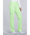 Photograph of iFlex Women's Mid Rise Straight Leg Pull-on Pant Green CK002-GRZN