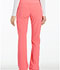 Photograph of iFlex by Cherokee Women's Mid Rise Straight Leg Pull-on Pant Pink CK002-KAPK