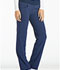 Photograph of iFlex Women's Mid Rise Straight Leg Pull-on Pant Blue CK002-NAV
