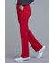 Photograph of iFlex Women Mid Rise Straight Leg Pull-on Pant Red CK002-RED