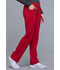 Photograph of iFlex Women's Mid Rise Straight Leg Pull-on Pant Red CK002-RED