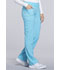 Photograph of iFlex Women's Mid Rise Straight Leg Pull-on Pant Blue CK002-TRQ