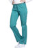 Photograph of Luxe Sport Women's Mid Rise Straight Leg Pull-on Pant Green CK003-TEAV