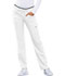 Photograph of Luxe Sport Women's Mid Rise Straight Leg Pull-on Pant White CK003-WHTV