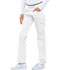 Photograph of Cherokee Luxe Sport Women's Mid Rise Straight Leg Pull-on Pant White CK003-WHTV