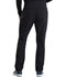 Photograph of iFlex Men Men's Tapered Leg Drawstring Cargo Pant Black CK006-BLK