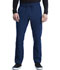 Photograph of iFlex Men Men's Tapered Leg Drawstring Cargo Pant Blue CK006-NAV