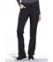 Photograph of iFlex Women's Mid Rise Tapered Leg Drawstring Pants Black CK010-BLK