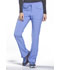 Photograph of iFlex Women Mid Rise Tapered Leg Drawstring Pants Blue CK010-CIE