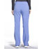 Photograph of iFlex Women's Mid Rise Tapered Leg Drawstring Pants Blue CK010-CIE