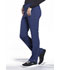 Photograph of iFlex Women's Mid Rise Tapered Leg Drawstring Pants Blue CK010-NAV