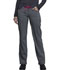Photograph of Infinity Women's Low Rise Straight Leg Drawstring Pant Black CK030A-HTGR