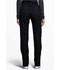 Photograph of Luxe Women's Natural-Rise Tapered Leg Pant Black CK040-BLKV