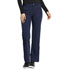 Photograph of Statement Women Natural Rise Flare Leg Pant Blue CK060-NAV