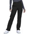 Photograph of Infinity Women Mid Rise Tapered Leg Pull-on Pant Black CK065AT-BAPS