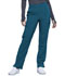 Photograph of Infinity Women Mid Rise Tapered Leg Pull-on Pant Blue CK065A-CAPS