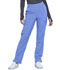 Photograph of Infinity Women's Mid Rise Tapered Leg Pull-on Pant Blue CK065A-CIPS