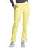 Photograph of Infinity Women Mid Rise Tapered Leg Pull-on Pant Yellow CK065A-LNSU