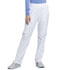Photograph of Infinity Women's Mid Rise Tapered Leg Pull-on Pant White CK065A-WTPS