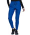 Photograph of Cherokee Form Women Mid-Rise Tapered Leg Drawstring Pant Blue CK090-ROY